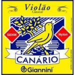 Encordoamento Para Violão GENW Canário Nylon Médio GIANNINI
