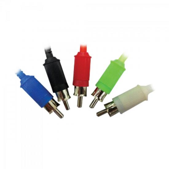 Plug RCA Macho 141110 Branco GENÉRICO