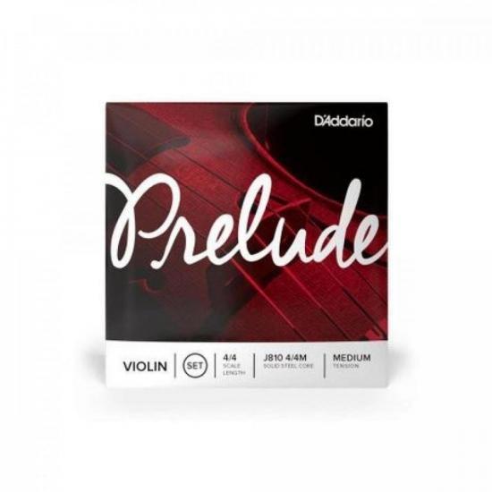Encordoamento Para Violino 4/4 J810 Média D`ADDARIO