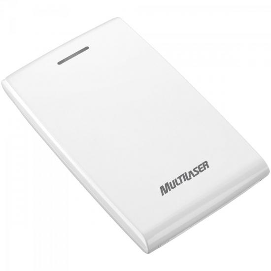 Case para HD Externo GA080 Branco MULTILASER