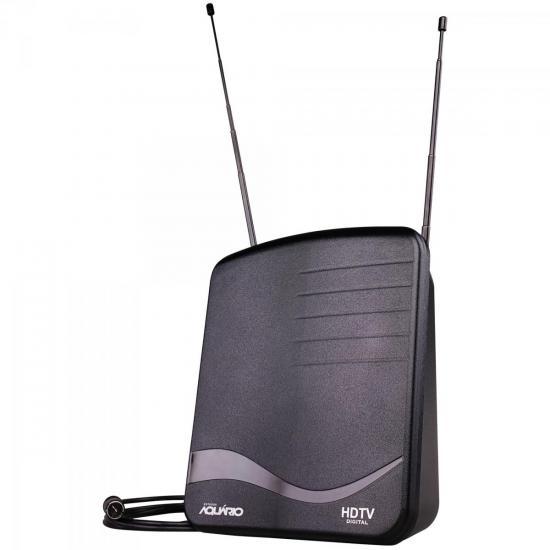 Antena Digital UHF/VHF/FM/HDTV DTV-1100 AQUÁRIO