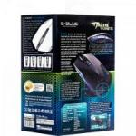 Mouse Gamer USB 2400DPI Mazer Type-R Preto E-BLUE