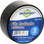 Fita Isolante Antichama Preta 19mm x 5m BRASFORT