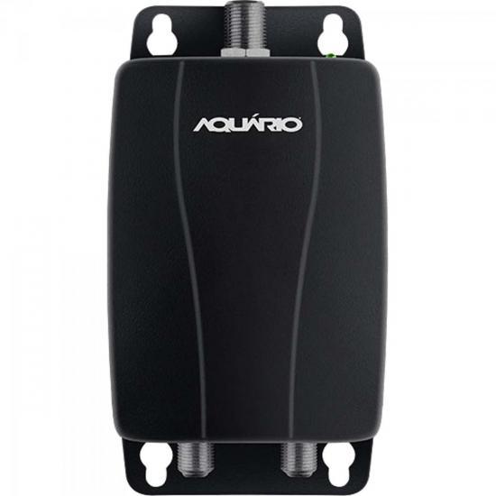 Amplificador de Linha Para Antena Externa 20dB AL-1020 Preto AQUÁRIO