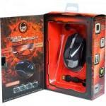 Mouse Gamer Laser USB 5000DPI Zealot Preto TEAM SCORPION