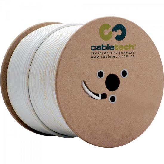 Coaxial RFF 4mm Bipolar 85% Branco Bobina 500m CABLETECH