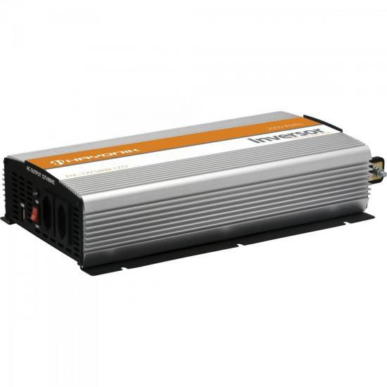 Inversor de Onda Modificada 12VDC/127V USB 2000W HAYONIK