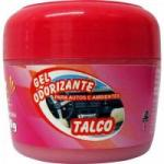 Gel Odorizador Automotivo 60g Talco SUN CAR
