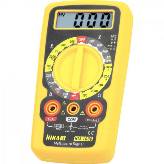 Multímetro Digital HM1000 HIKARI
