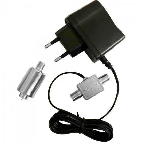Booster VHF/UHF PQBT-2670 26dB PROELETRONIC