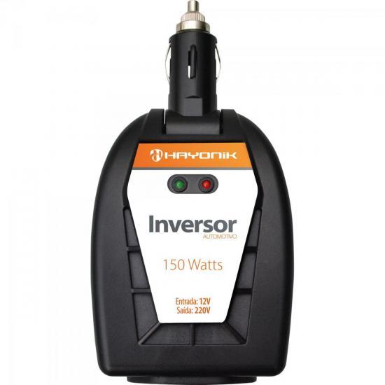 Inversor de Onda Modificada 12VDC/220V USB 150W HAYONIK