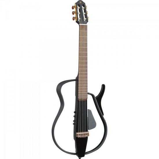 Violão Elétrico Nylon SLG110N Silent Guitar Preta YAMAHA
