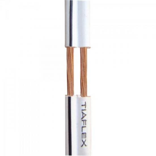 Fio Polar Ext 2x0,30mm 22 Branco TIAFLEX