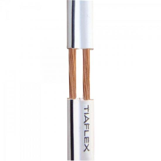 Fio Polar Ext 2x0,30mm 22 Preto TIAFLEX