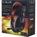 Headset Gamer CONQUEROR I Preto/Vermelho E-BLUE