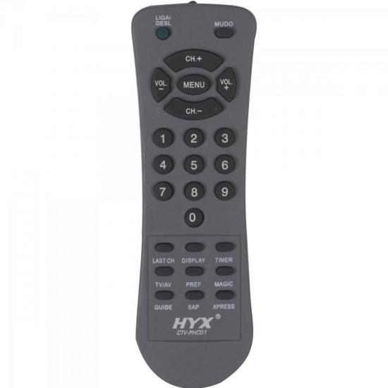 Controle Remoto para TV PHILCO CTV-PHC01 HYX