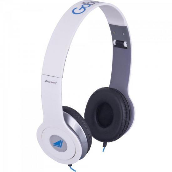 Fone de Ouvido com Microfone GoBeats HDP-601 Branco FORTREK