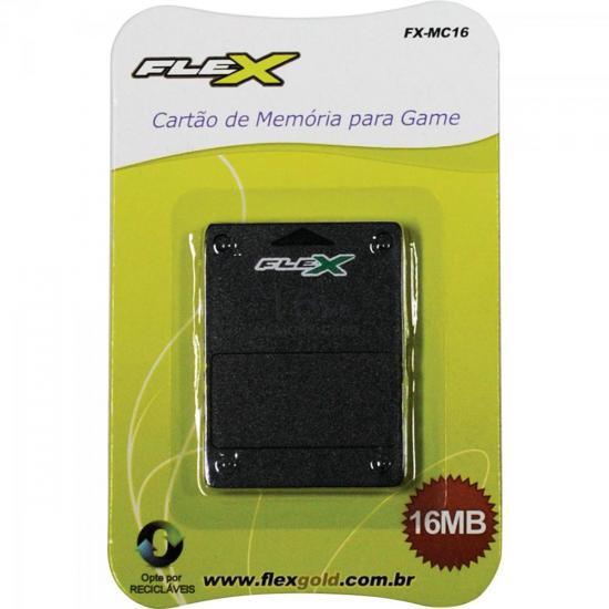 Cartão de Memória Playstation2 16MB Preto FXMC16 FLEX
