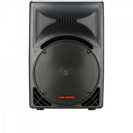 Caixa Acústica Ativa 215W Classe D CA2000A Preta HAYONIK