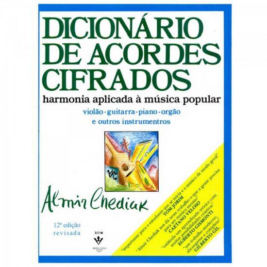 Método para Violão Dicionário de Acordes Cifrados IRMÃOS VITALE
