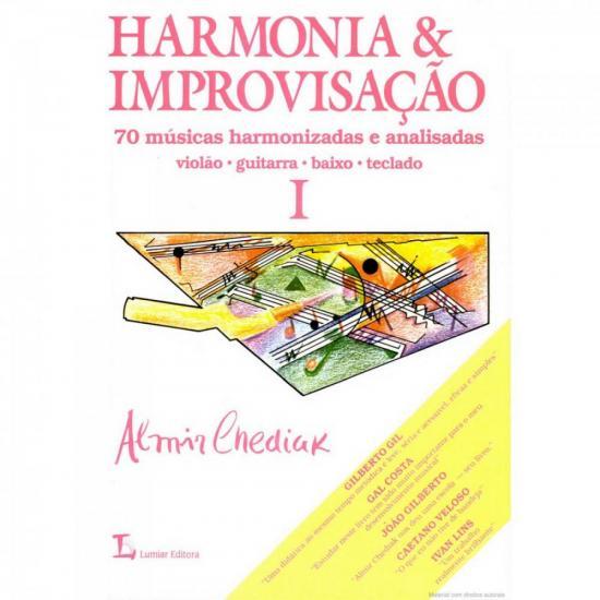 Método Harmonia e Improvisação Volume 1 IRMÃOS VITALE