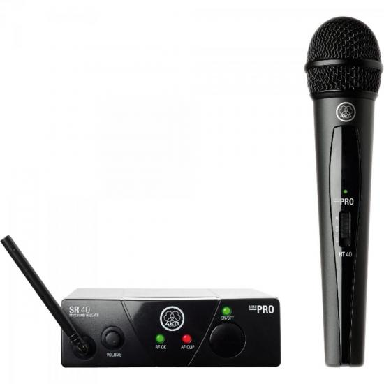 Microfone WMS 40 Mini Vocal C Preto AKG