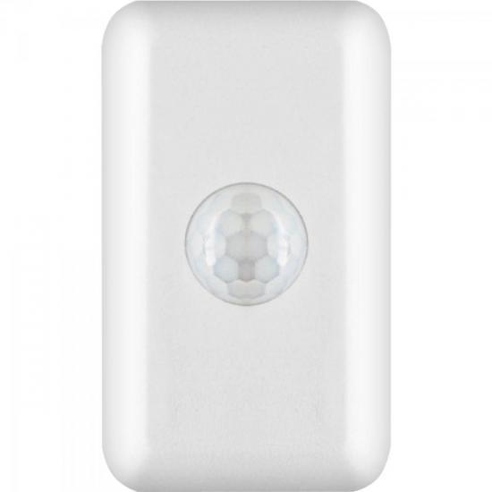 Sensor de Presença com Sistema Articulado Bivolt PT1010 Branco PROTECTION
