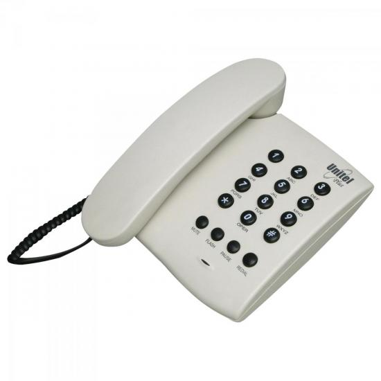 Telefone PLUS COM CHAVE Marfim UNITEL