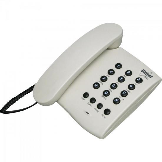 Telefone PLUS SEM CHAVE Marfim UNITEL
