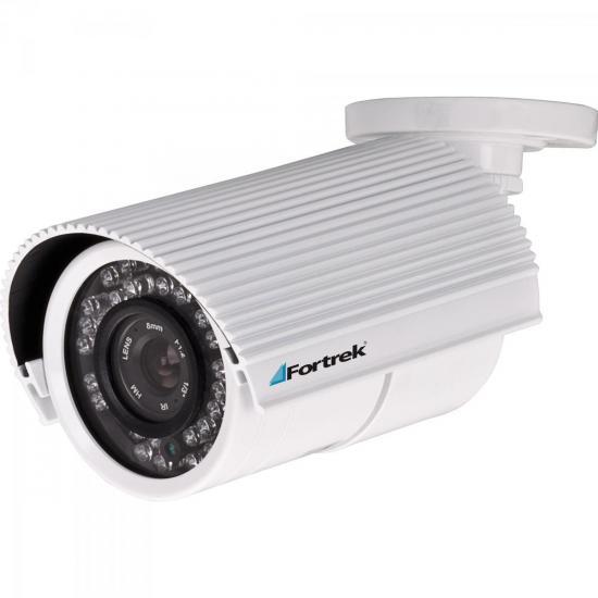 Câmera Infravermelho 30m 3,6mm 600 tvl CCD Sony IC-301SY Branco FORTREK