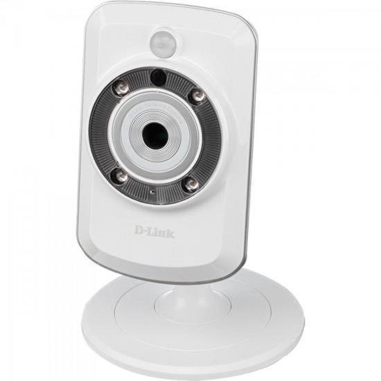 Câmera IP Wireless Cloud com Áudio Visão Noturna e Entrada MicroSD DCS-942L D-LINK
