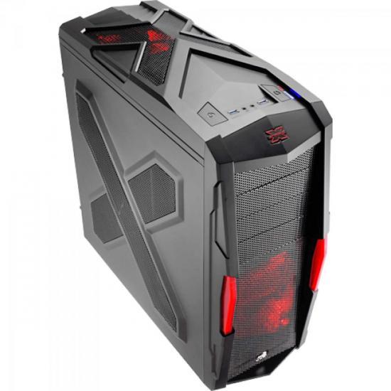 Gabinete Gamer STRIKE-X XTREME EN52025 Preto AEROCOOL