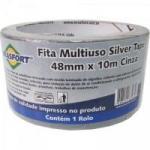 Fita Multiuso SILVER TAPE 48mm X 10m Cinza BRASFORT