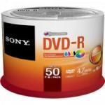 DVD-R Printable 120 min 4.7GB 16x 50DMR47FBZ2LA SONY