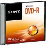 DVD-R Slim Case 120 min 4.7GB 16X DMR47SS SONY