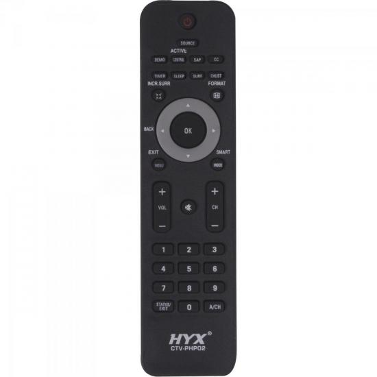 Controle Remoto para TV LCD PHILIPS CTV-PHP02 HYX