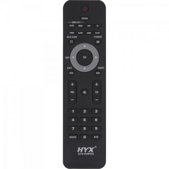 Controle Remoto para TV LCD PHILIPS CTV-PHP03 HYX