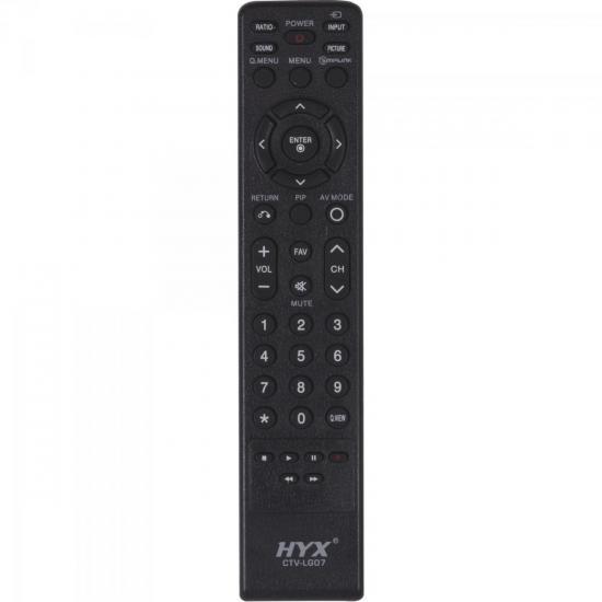 Controle Remoto para TV LCD LG CTV-LG07 HYX