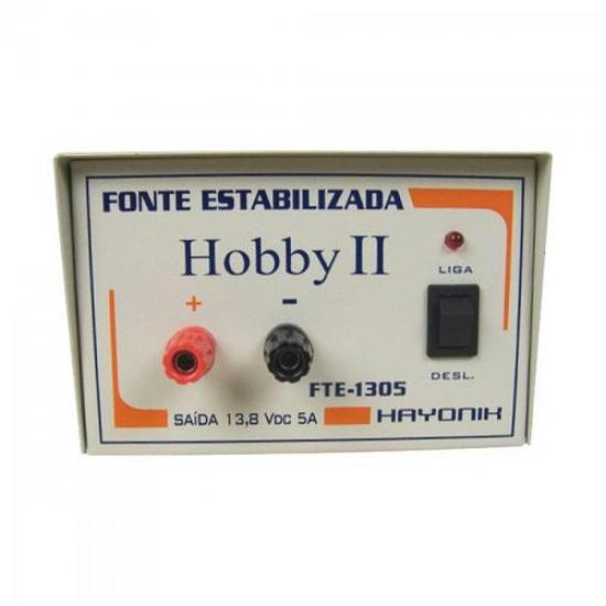 Fonte FTE1305 MASTER 13,8VDC 5A Estabilizada HAYONIK