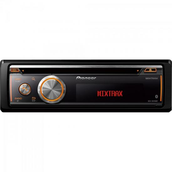 Auto Rádio CD/USB/SD/AM/FM/Bluetooth DEH-X8780BT Preto PIONEER