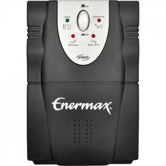 Estabilizador ARMAZEM LASER ATM 3200VA Bivolt Preto ENERMAX