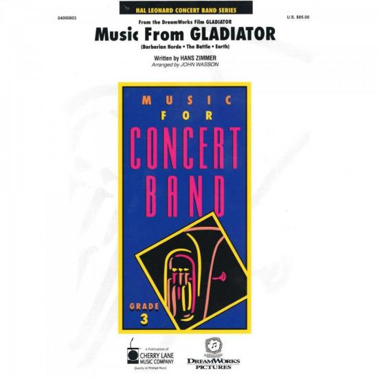 Music From Gladiator Score Parts Sympho ESSENCIAL ELEMENTS