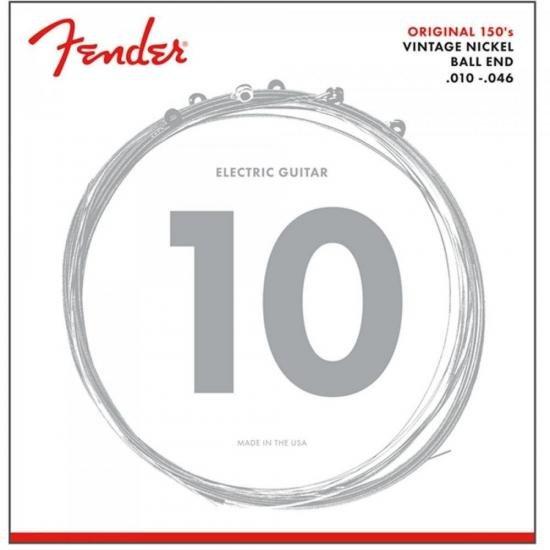 Encordoamento para Guitarra Aço 0.010 150R Niquelada FENDER