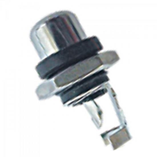 Plug RCA com Porca 64 EMETAL