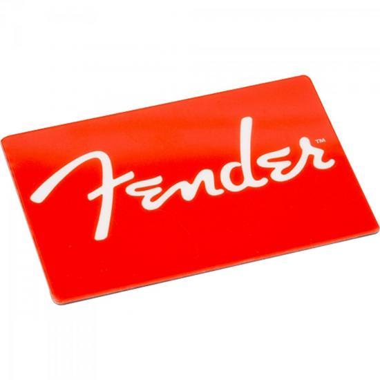 Ímã Logo Clássica Vermelha FENDER