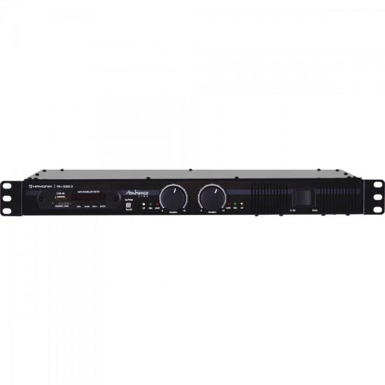 Amplificador 400W AMBIENCE PA-4000D Preto