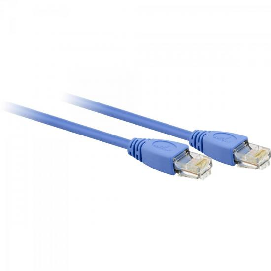 Patch Cord CAT5 2,5m CAT-101 Azul FORTREK
