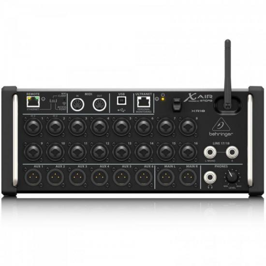 Mixer Digital 18 Canais X AIR XR18 BEHRINGER
