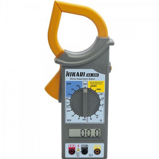 Alicate Amperímetro Digital HA300 HIKARI
