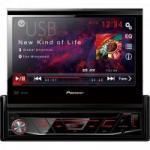 Auto Rádio CD/DVD/USB/AM/FM AVH-3880DVD Preto PIONEER